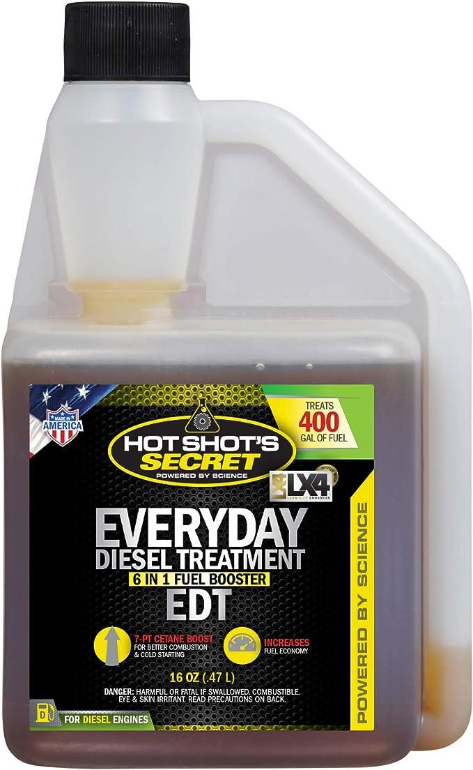 Amazon Com Hot Shot S Secret Everyday Diesel Treatment 16 Ounce Squeeze Bottle Hssedt16zs Automotive
