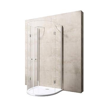 100 X 100 X 196 cm Diseño Mampara de ducha ravenna03 K, con ducha ...