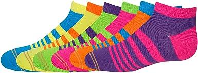 Gold Toe Big Girls Six-Pack Liner Socks