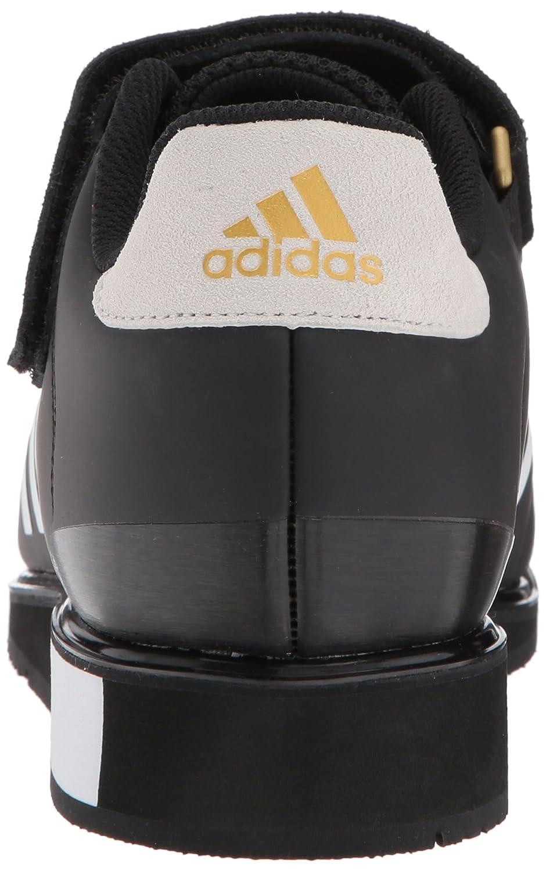 brand new 25480 44cb0 adidas Men s Power Perfect III. Oro blanco   negro   mate