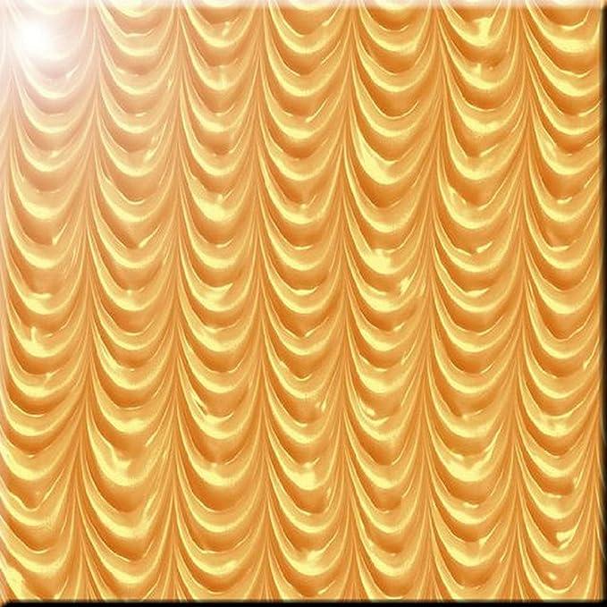 Rikki Knight Grunge Music Notes Design Ceramic Art Tile 12 x 12