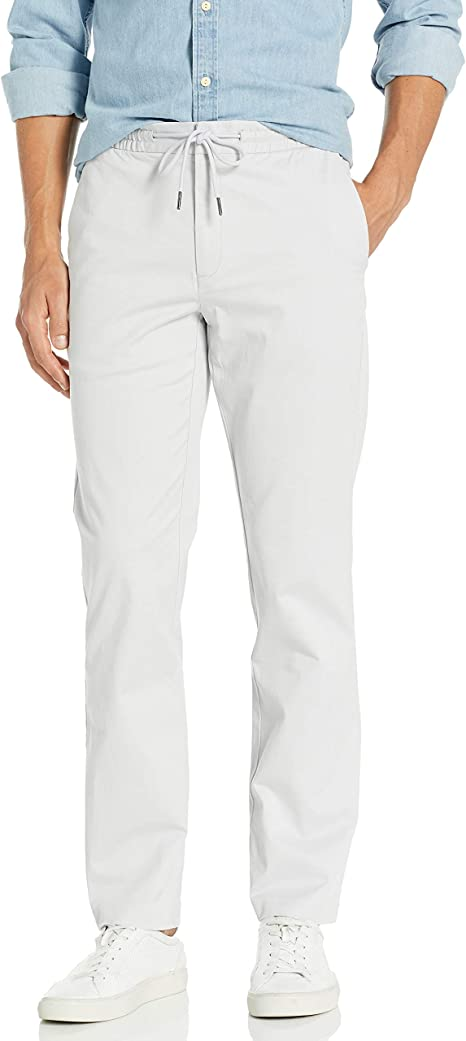 Marchio Goodthreads Skinny-Fit Washed Chino Drawstring Pant Uomo