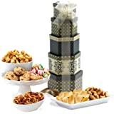 Savory Sweets Thinking of You Gift Tower, Perfect Gift Father's Day, Friends, Corporate Gifts, Birthdays, And More!