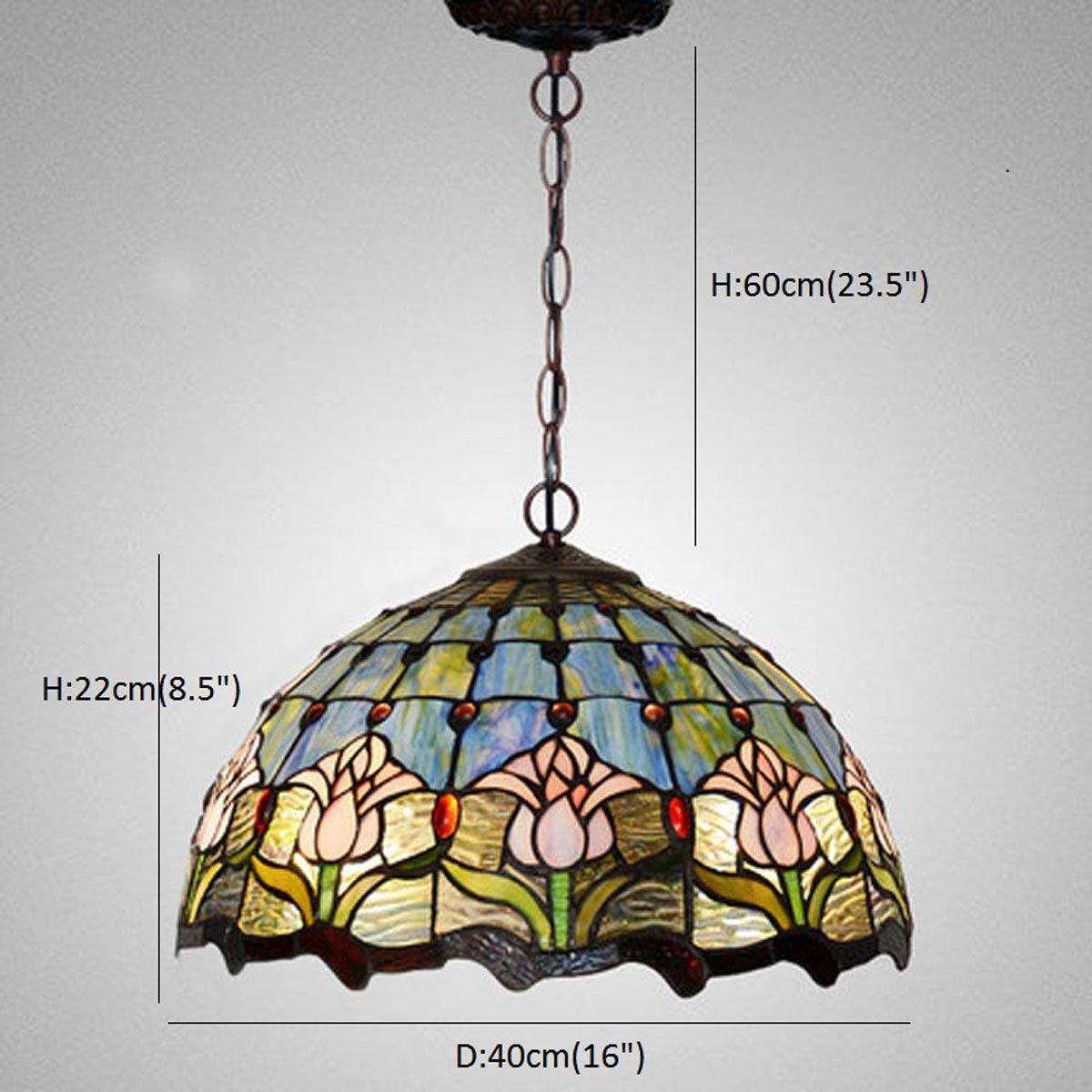 Fumat tiffany pendant lights ceiling lighting fixtures led e26 16