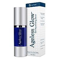 BioTrust Ageless Glow Anti Aging Moisturizer, Skin Brightening Serum with Vitamin...