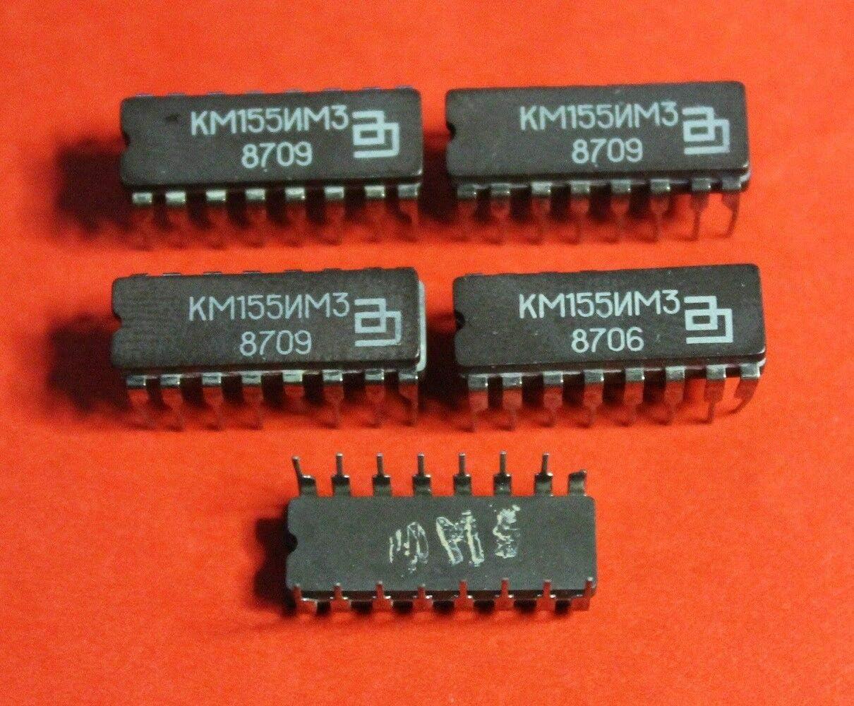 KM155IM3 = SN7483A Microchip USSR  Lot of 1 pcs 7483PC IC