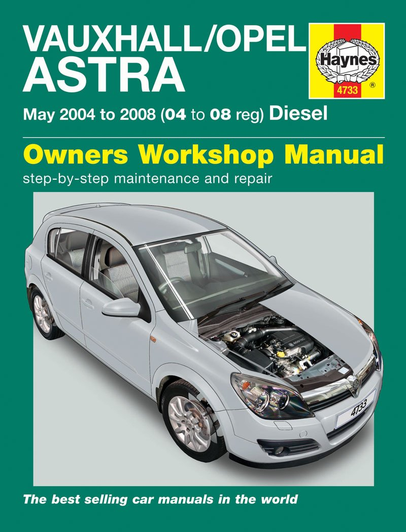 Haynes Garage Quality Car Repair Manual for Vauxhall/Opel Astra Diesel (May  04 - 08) 04 to 08 including an AA Microfibre Mitt: Amazon.co.uk: Car &  Motorbike