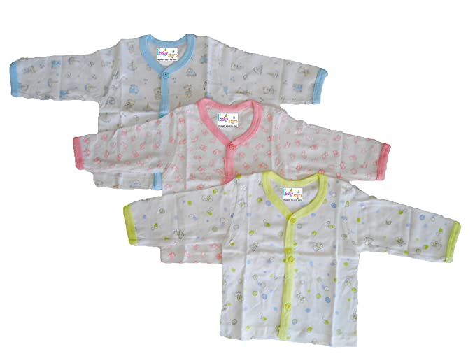 5538e8952 1stbabystore New Born Infant Full Sleeves Front Open Vest Housiry Baby Girls  & Boys Unisex Top