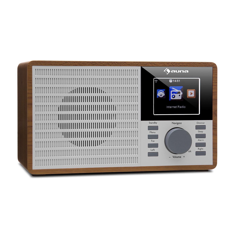 Radio Salle De Bain Wifi ~ auna radio internet ir 160 radio r veil radio num rique wifi