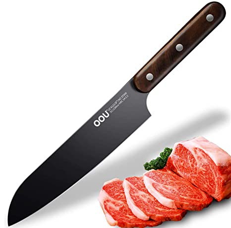 Amazon.com: OOU Cuchillo de chef profesional, cuchillo de ...