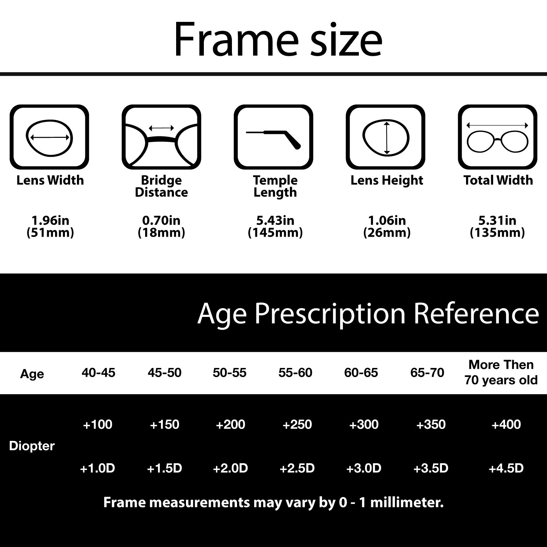 Amazon ALTEC VISION Minimalist Rimless Reading Glasses for Men