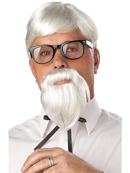 Amazon.com: california costumes The Coronel peluca y bigote ...