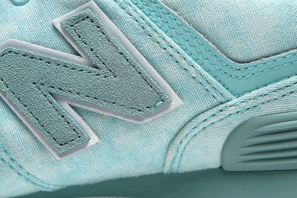 New Balance Balance Balance Damen 574 Textile Sneaker Grün ad3c6e