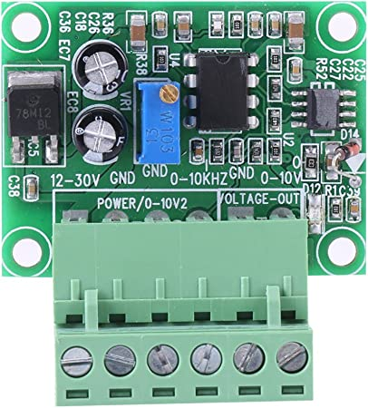 Frequency to Voltage 0-10Khz to 0-10V F//V Digital to Analog Converter Module New