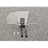 Tencasi Deflector Universal de Viento Ajustable para Motocicleta