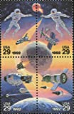SPACE ACCOMPLISHMENTS ~ RUSSIA JOINT ISSUE - Block of 4 x 29 Cent US Postage Stamps Scott #2634a