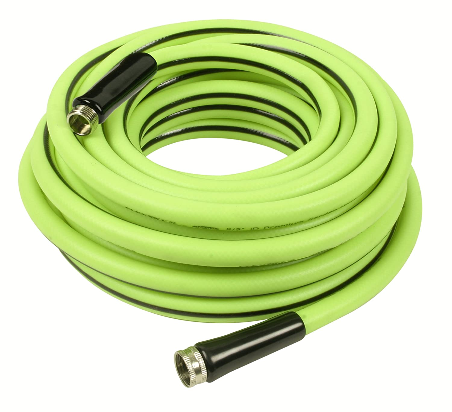 Amazon.com: Legacy HFZW5850YW34 Flexzilla 5/8 X 50 Zilla Green Water Hose  With 3/4 GHT Ends: Home Improvement