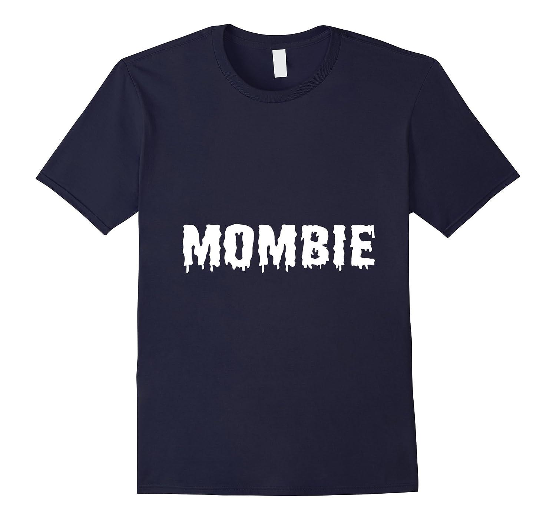 Zombie Mom Spooky Halloween Costume Shirt-T-Shirt