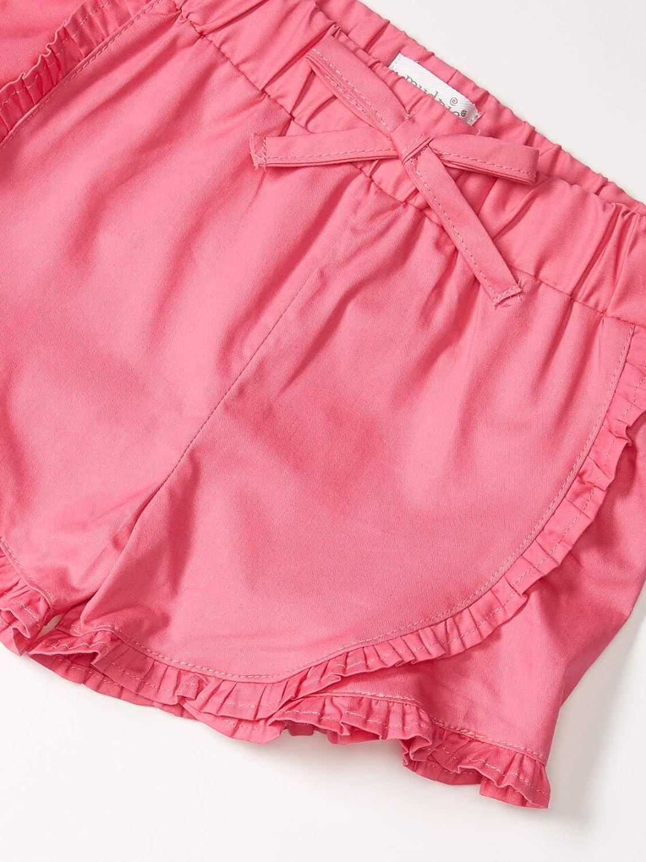 Mud Pie Baby Girls Ruffle Shorts-Fuschia: Clothing