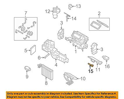 Amazon com: BMW 64 11 9 116 269, A/C Evaporator Temperature Switch