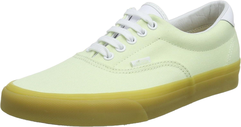 Vans Unisex Adults' Era 59 Trainers, Green ((Double Light Gum) Ambrosia Qk6), 7.5 UK 41 EU