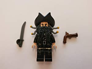 LEGO Minifigure - Pirates of the Caribbean - BLACKBEARD