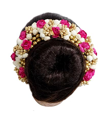 f695723130253 FULLY New Style Juda Bun Decoration Hair Gajra for Bridal Accessories for  Girls/Juda Hair