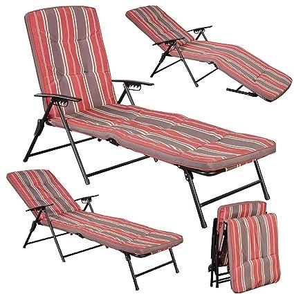 Amazon.com: MBN - Silla reclinable ajustable para exteriores ...