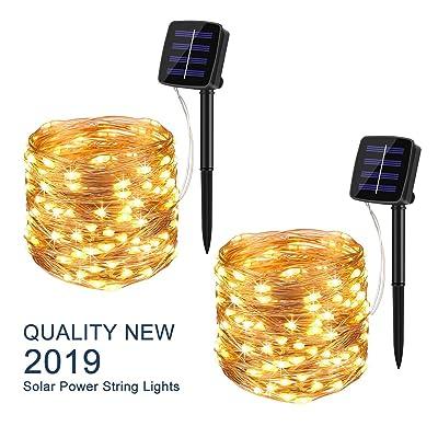 BINZET Solar String Lights Outdoor 8542006644