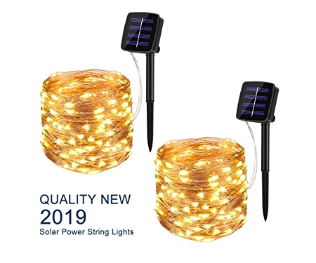 BINZET Solar String Lights Outdoor 8542006644
