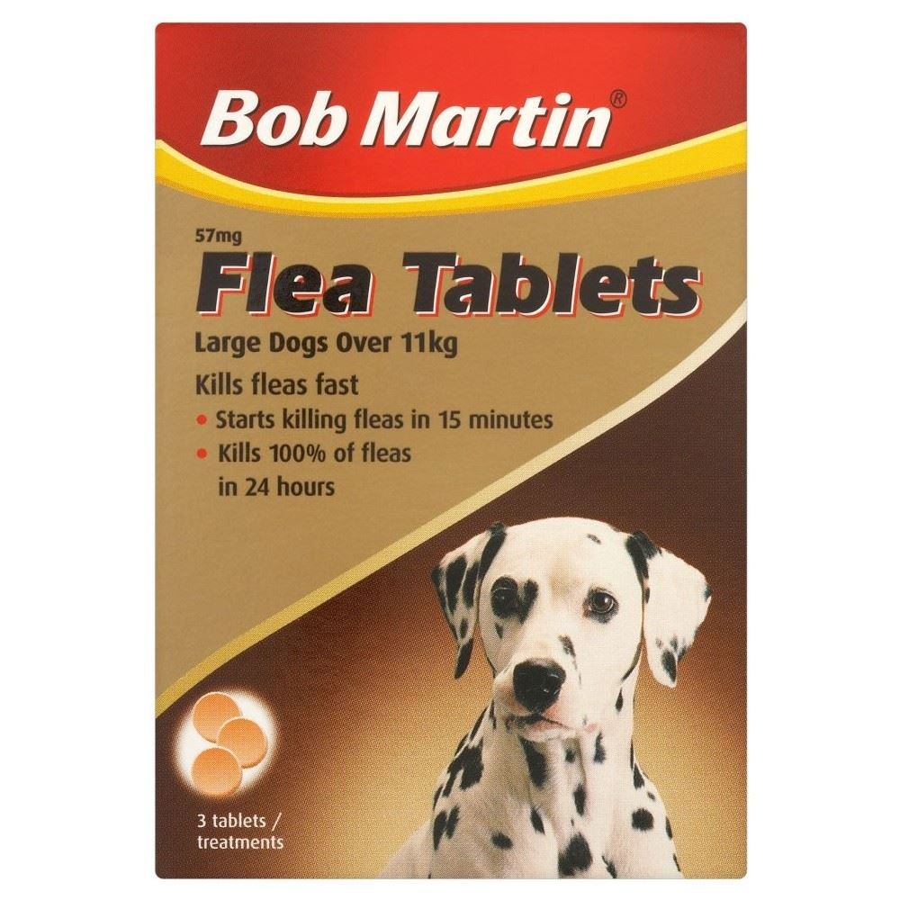 Bob Martin Flea Tablets for Large Dogs (3) Pack of 6