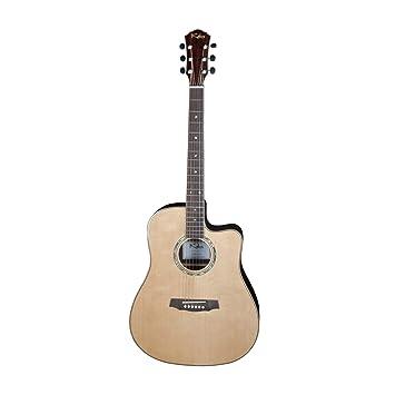 Kalos sdg382ceq Dreadnought Cutaway Guitarra eléctrica acústica con Solid tapa de pícea: Amazon.es: Instrumentos musicales