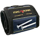MagnoGrip 002-375 2 Pack Magnetic Wristband, Navy Blue