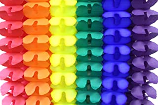 product image for 6 Classic Rainbow Party Garlands, 12 Foot Each
