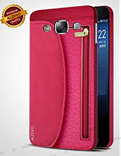 best sneakers 1ef2a 02dff Shopsji Nosson Red Flip Cover for Samsung Galaxy E5: Amazon.in ...