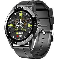 JINPXI Relojes Inteligentes Hombre Llamada Bluetooth con Pulsómetro,Podómetro,Monitor de Sueño,5 Modos de Deportes…