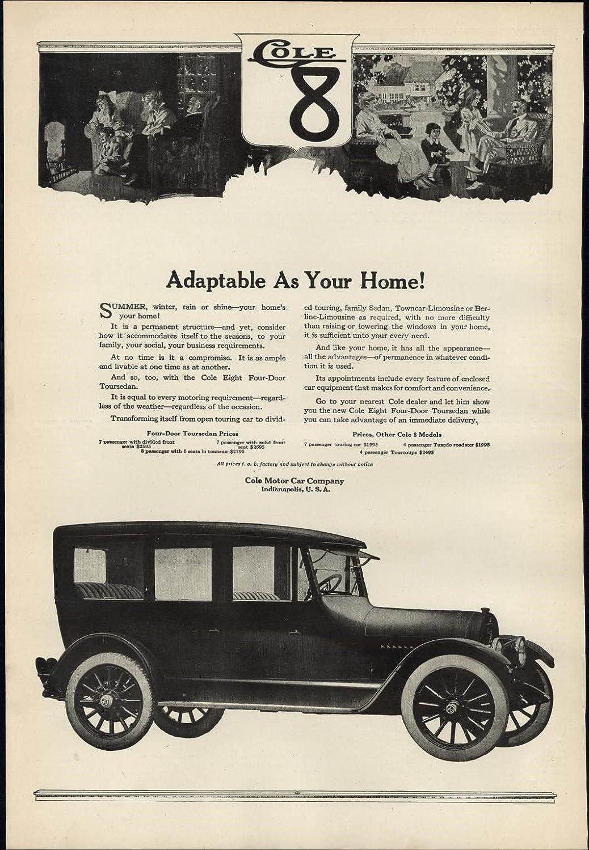 Amazon.com: Cole 8 early autos luxury Motor Cars 1917 vintage WWI ...