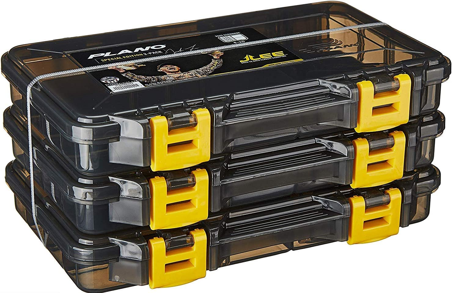 Tackle Or Craft Organizer in a 3 Pack 3600 Stowaway Storage Box with Dividers 5-20, JLee Special Edition