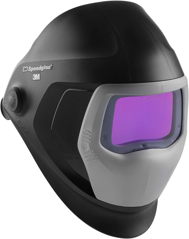 SPEEDGLAS 501826 9100 XXi - Máscara de soldadura automática diseñada para todo tipo de personas, protección fiable de los ojos y la cara frente a los radios, 73 x 107 mm