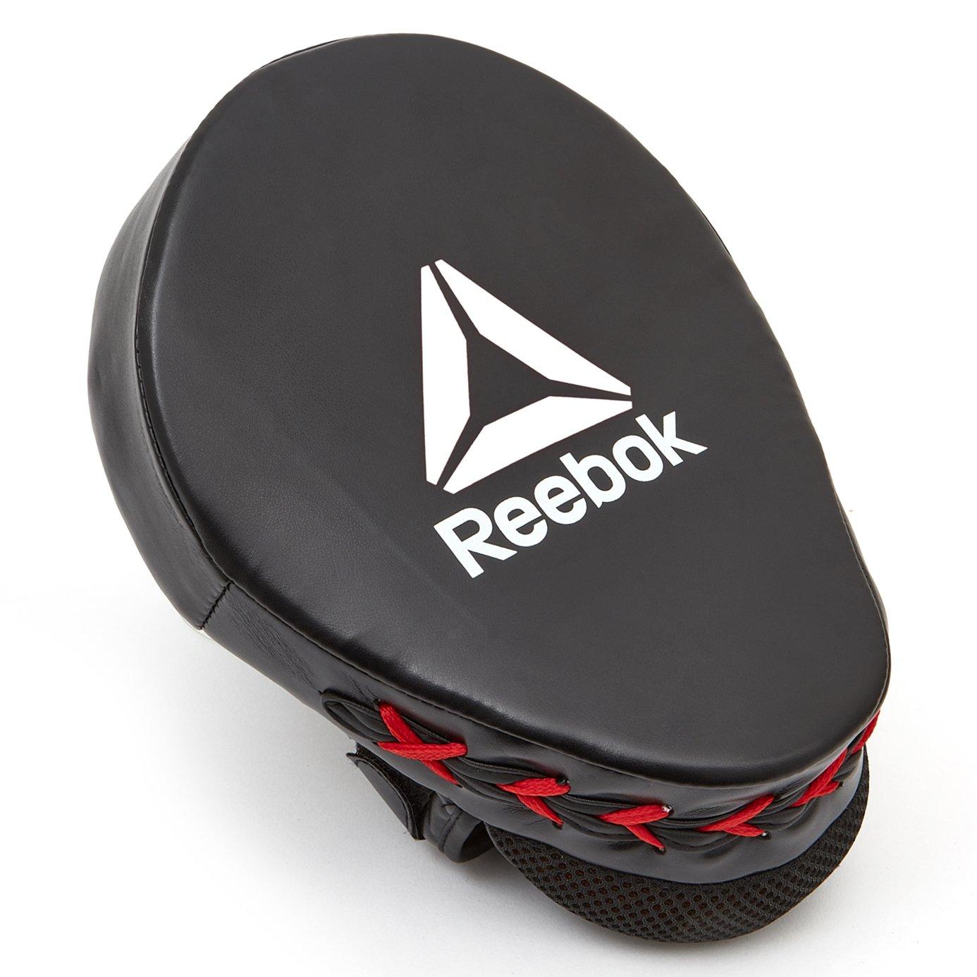 Reebok Cojines de Boxeo Rojo//Negro