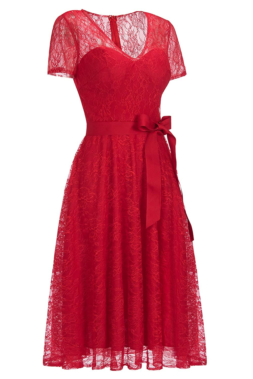 Fashion Formal tpr.sa Babyonline Women Vintage Short Sleeve Floral ...