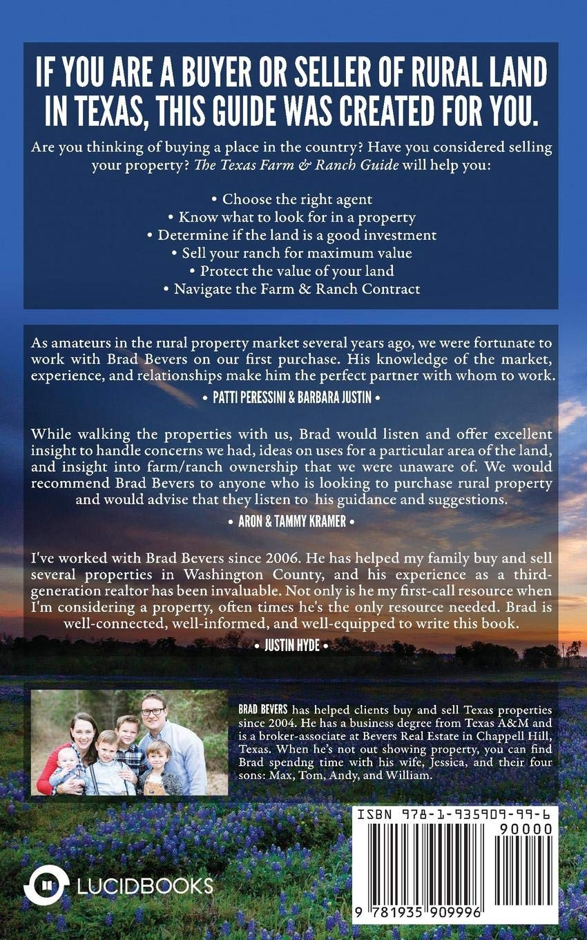 Texas Farm & Ranch Guide: For Buyers and Sellers of Texas