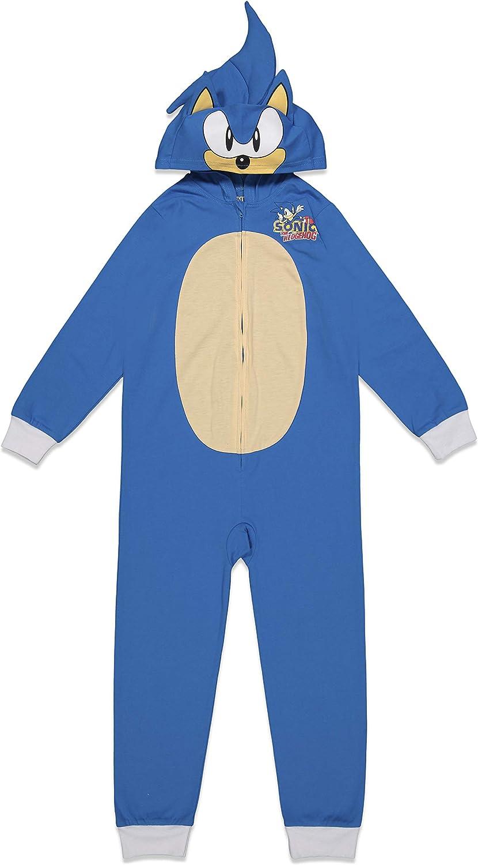 SEGA Sonic The Hedgehog Boys Costume Coverall