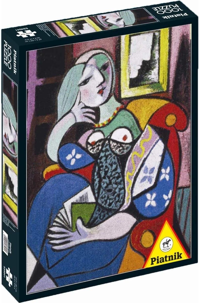 Piatnik Señora con Libro, 1000 Piezas Puzzle