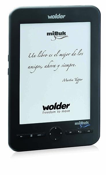 Wolder mibuk Sensitive Lector de libros electrónicos, 6 pulgadas ...