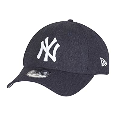 New Era Enfant Junior 9Forty Visiere Incurve MLB Heather Team Essential New  York Yankees Gris Casquette b74714477e7e