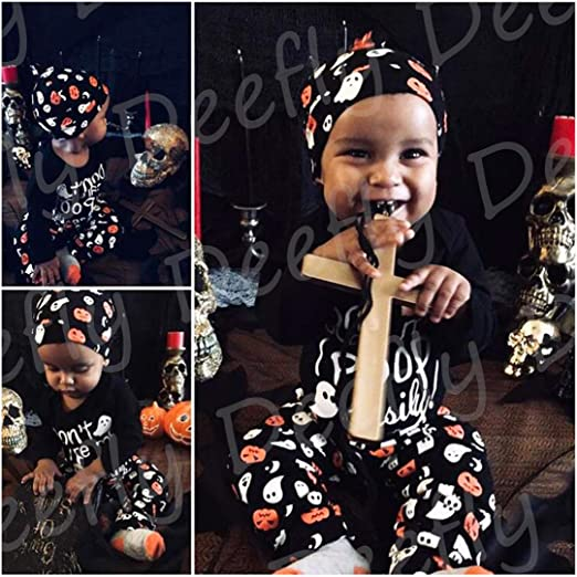 4Pcs Halloween Outfit Set Baby
