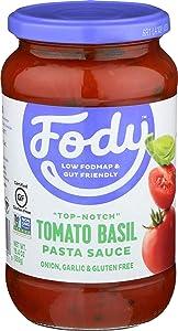FODY FOOD COMPANY Pasta Sauce, Tomato Basil, 19.4 OZ