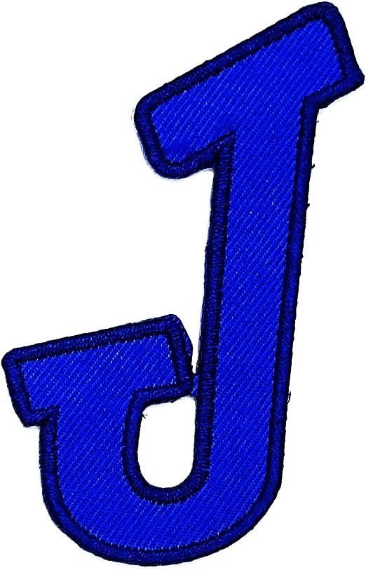 Parche con la letra azul de Rabana