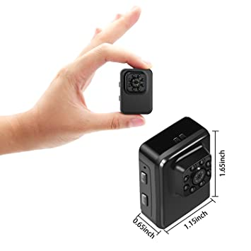 MILALOKO Mini Camera WiFi Wireless Small Camera 1080P: Amazon.co ...